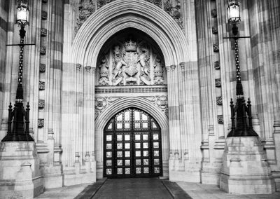 Sovereigns Gate Palace of Westminster London